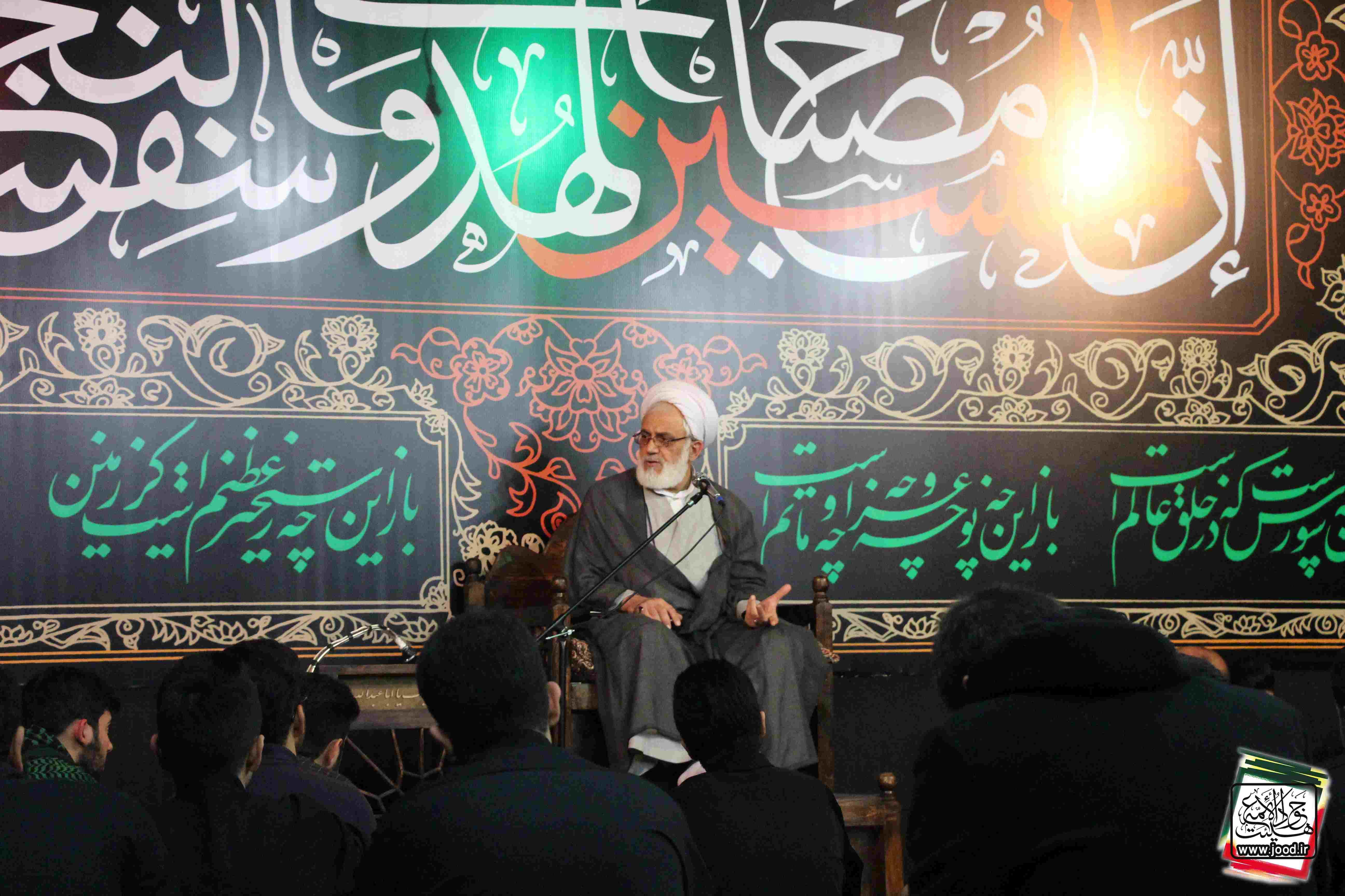 گزارش تصویری شب اول محرم ۹۵