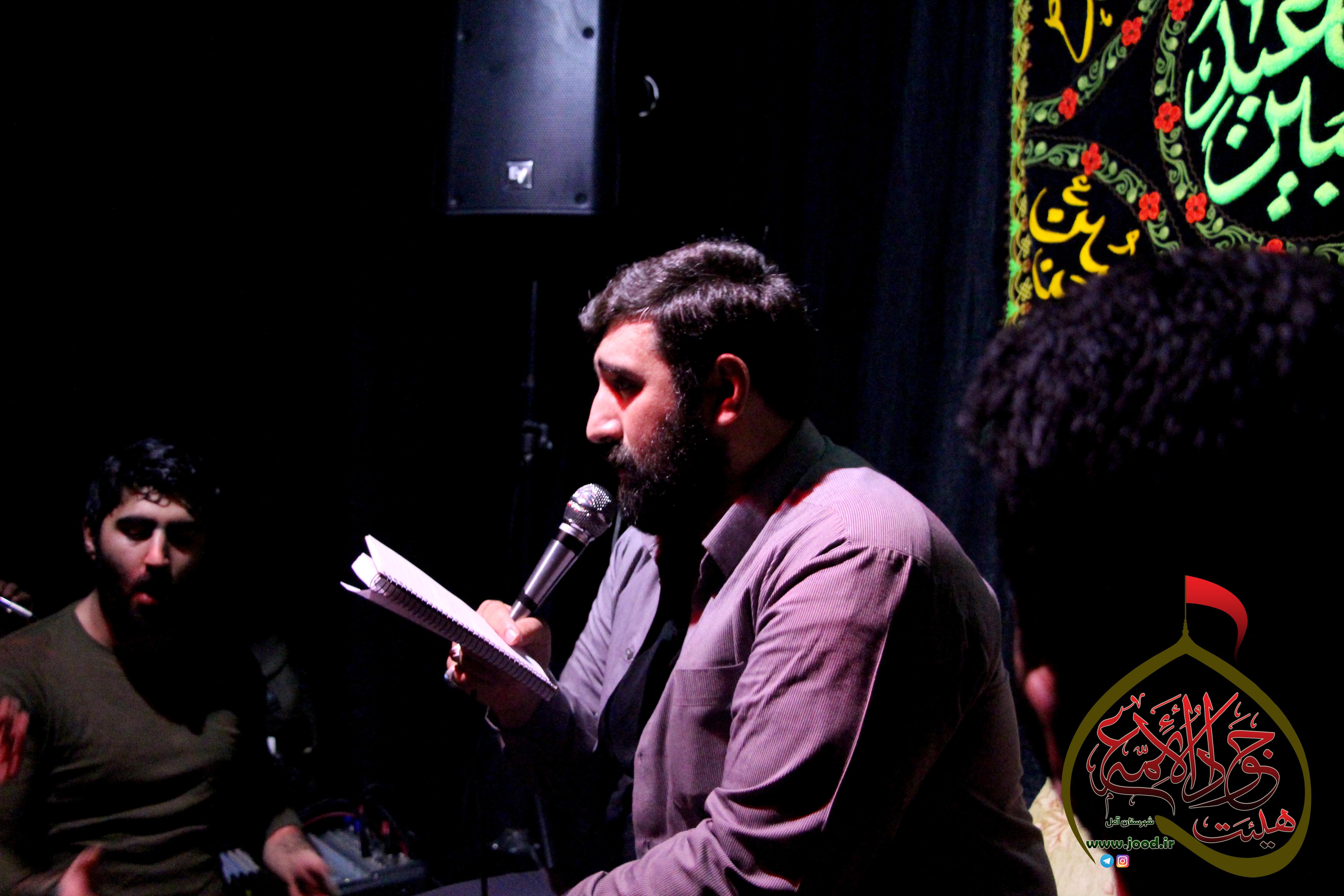 مراسم هفتگی ۲ بهمن ۹۵ – با نوای کربلایی یاسر رجبی