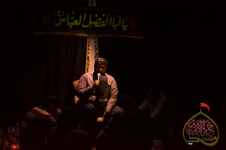 مراسم هفتگی۲۶دی۹۵ _با نوای یاسر رجبی و حسین راعی